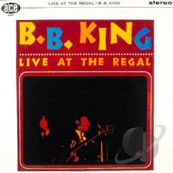 King, B.B. - Live At The Regal LP Cover Art