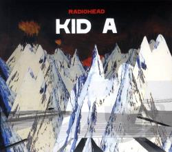 Radiohead - Kid A CD Cover Art