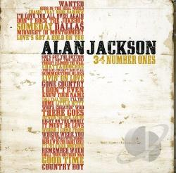 Jackson, Alan - 34 Number Ones CD Cover Art