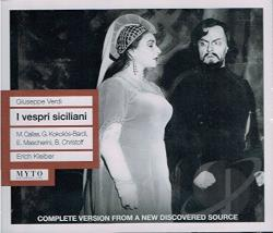 Verdi, G. - Verdi: I Vespri Siciliano CD Cover Art