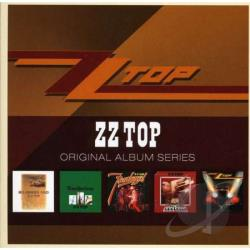 ZZ Top - Original Album Series CD Cover Art