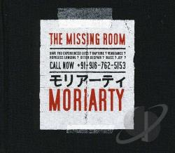 Moriarty - Missing Room CD Cover Art