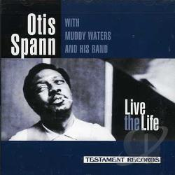 Spann, Otis - Live The Life CD Cover Art