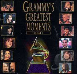 Grammy's Greatest Moments, Vol. 1 CD Cover Art