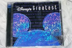 Disney - Disney's Greatest, Vol. 1 CD Cover Art