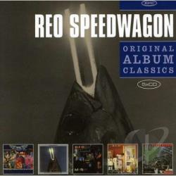 REO Speedwagon - Original Album Classics CD Cover Art