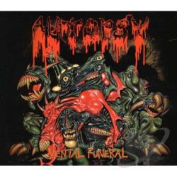 Autopsy - Mental Funeral CD Cover Art