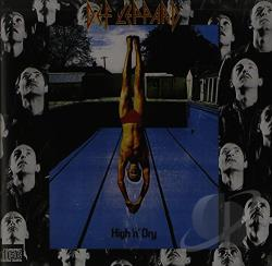 Def Leppard - High 'N' Dry CD Cover Art