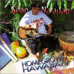 Na'Auao, Sean - Homegrown Hawaiian CD Cover Art