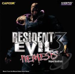 Resident Evil CD Cover Art