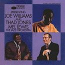 Williams, Joe - Presenting Joe Williams & Thad Jones/Mel Lewis Orchestra CD Cover Art