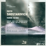 Brso / Grin / Jurowski / Leonid / Shostakovich - Dmitry Shostakovich: Film Music CD Cover Art