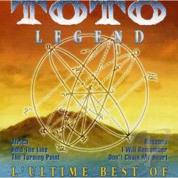 Toto - Legend: The Best of Toto CD Cover Art