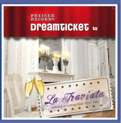 Dreamticket to La Traviata CD Cover Art