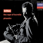 Bainbridge / Britten / Luxon - Britten: The Rape of Lucretia; Phaedra CD Cover Art