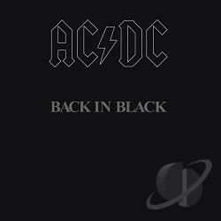 AC/DC - Back In Black CD Cover Art