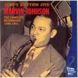 Johnson, Marvin - Jumpy Rhythm Jive:Complete 1946-1951 CD Cover Art