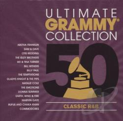 Ultimate Grammy Collection: Classic R&B CD Cover Art
