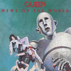 Queen - News of the World CD Album Queen News Of The World Cover Art