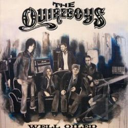 Quireboys - Well Oiled CD Cover Art