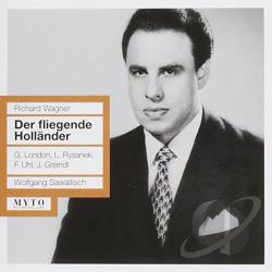 Fischer / Greindl / Rysanek / Uhl, A. / Wagner - Richard Wagner: Der fliegende Hollander CD Cover Art
