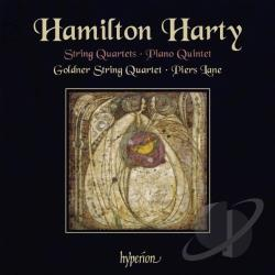 Goldner String Quartet / Harty / Lane - Hamilton Harty: String Quartets; Piano Quintet CD Cover Art