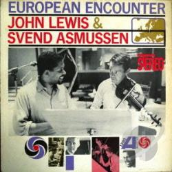 Asmussen, Svend / Lewis, John - European Encounter CD Cover Art