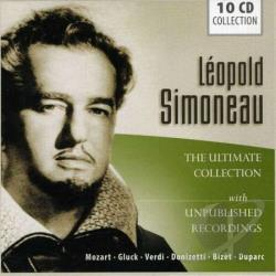 Simoneau, Leopold - Ultimate Collection CD Cover Art