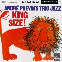 Andre Previn's Trio Jazz - King Size! CD Cover Art