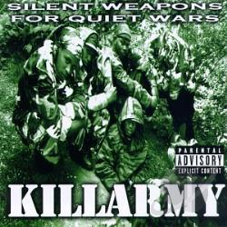 Killarmy - Silent Weapons for Quiet Wars CD Cover Art