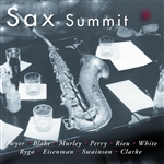 Sax Summit CD Cover Art