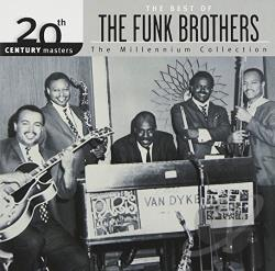 Funk Brothers - 20th Century Masters - The Millennium Collection: The Best of the Funk Brothers CD Cover Art