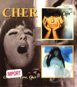 Cher - Cher/With Love, Cher CD Cover Art