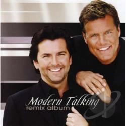 Modern Talking - Remix Album CD Cover Art