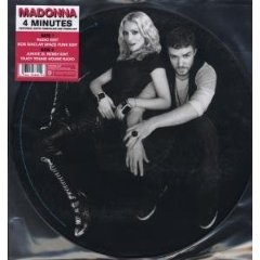 Madonna - 4 Minutes LP Cover Art