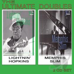 Hopkins, Lightnin' / Memphis Slim - Ultimate Doubles CD Cover Art