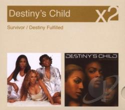 Destiny's Child - Survivor/Destiny Fulfilled CD Cover Art