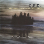 Qed - Yet What Is Any Ocean... CD Cover Art