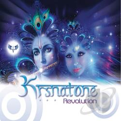 Krsnatone - Revolution CD Cover Art
