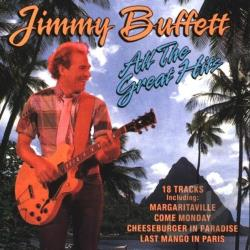 Buffett, Jimmy - All The Great Hits CD Cover Art