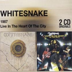 Whitesnake - 1987/Live In The Heart Of CD Cover Art
