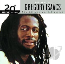 Isaacs, Gregory - 20th Century Masters - The Millennium Collection: The Best of Gregory Isaacs CD Cover Art