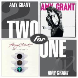 Grant, Amy - Straight Ahead/Unguarded CD Cover Art