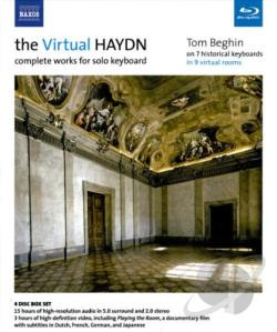 Beghin / Haydn - Virtual Haydn - Complete Works For Solo Keyboard BRAY Cover Art