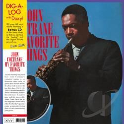 Coltrane, John - My Favorite Things LP Cover Art