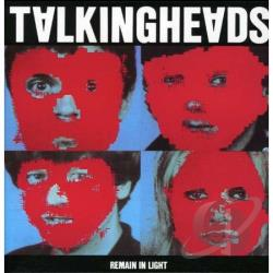 Talking Heads - Remain in Light CD Cover Art