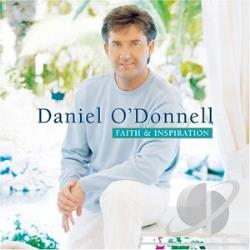 O'Donnell, Daniel - Faith & Inspiration CD Cover Art