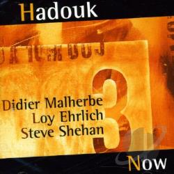 Hadouk Trio - Hadouk Now CD Cover Art