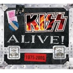 Kiss - Kiss Alive! 1975-2000 CD Cover Art