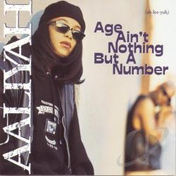 Aaliyah - Age Ain't Nothing But a Number CD Cover Art